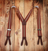 Pike Brothers 1937 Heavy Duty Braces red