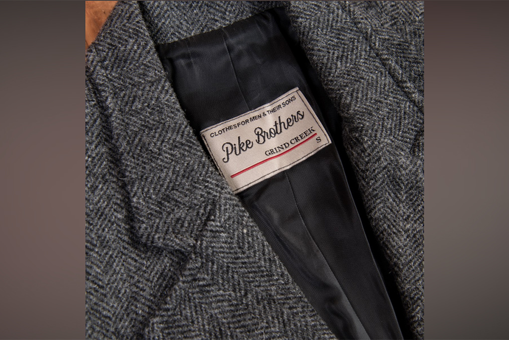 Pike Brothers 1938 Cricketeer Jacket Dundee grey