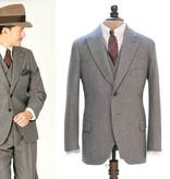 Simon James Cathcart Grey Eden  3-delig suit