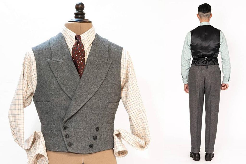 Simon James Cathcart 1936 Grey Eden  3-delig suit