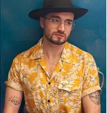 Collectif Cesar 40's Hawaii Shirt Yellow