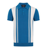 Collectif Pablo Blue Stripped Poloshirt