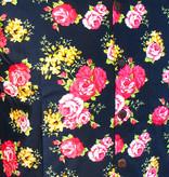 Chenaski Hawaii Shirt Roses Navy