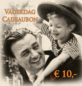 Urban Bozz Vaderdag Cadeaubon t.w.v.  10 euro