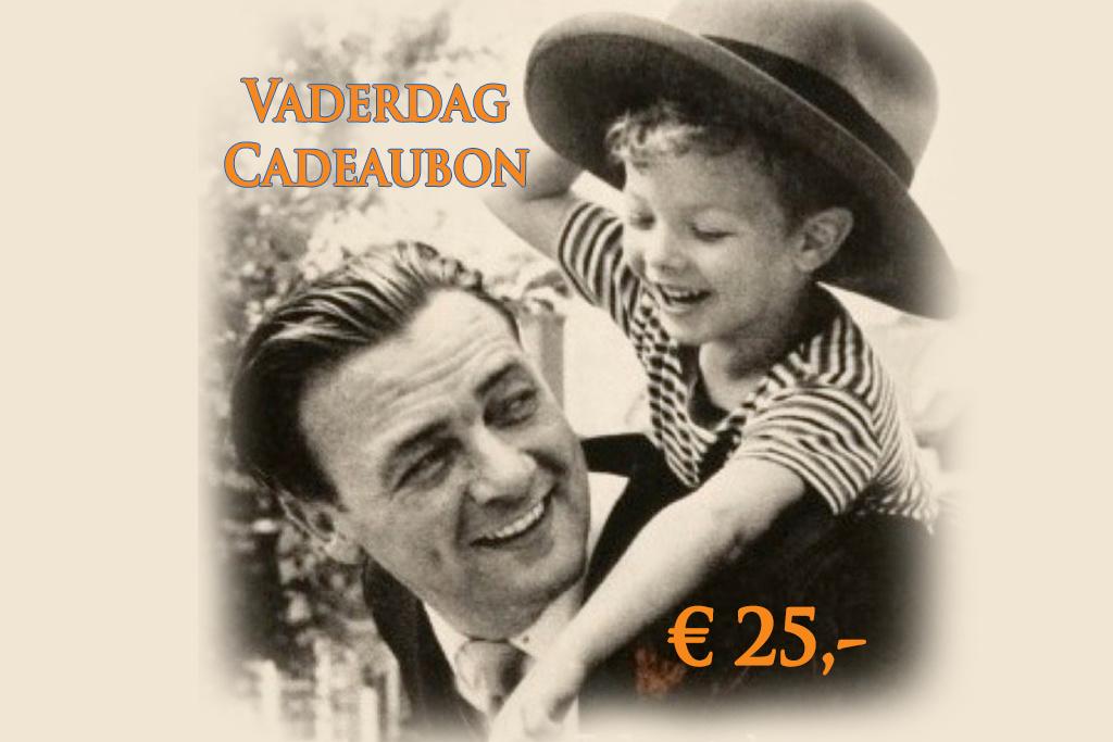 Urban Bozz Vaderdag Cadeaubon t.w.v.  25 euro