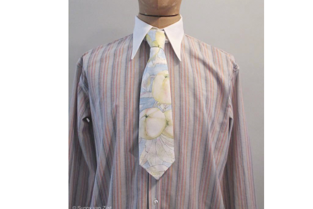 On The Sunny Side London Stripe 20s Spearpoint Collar Shirt