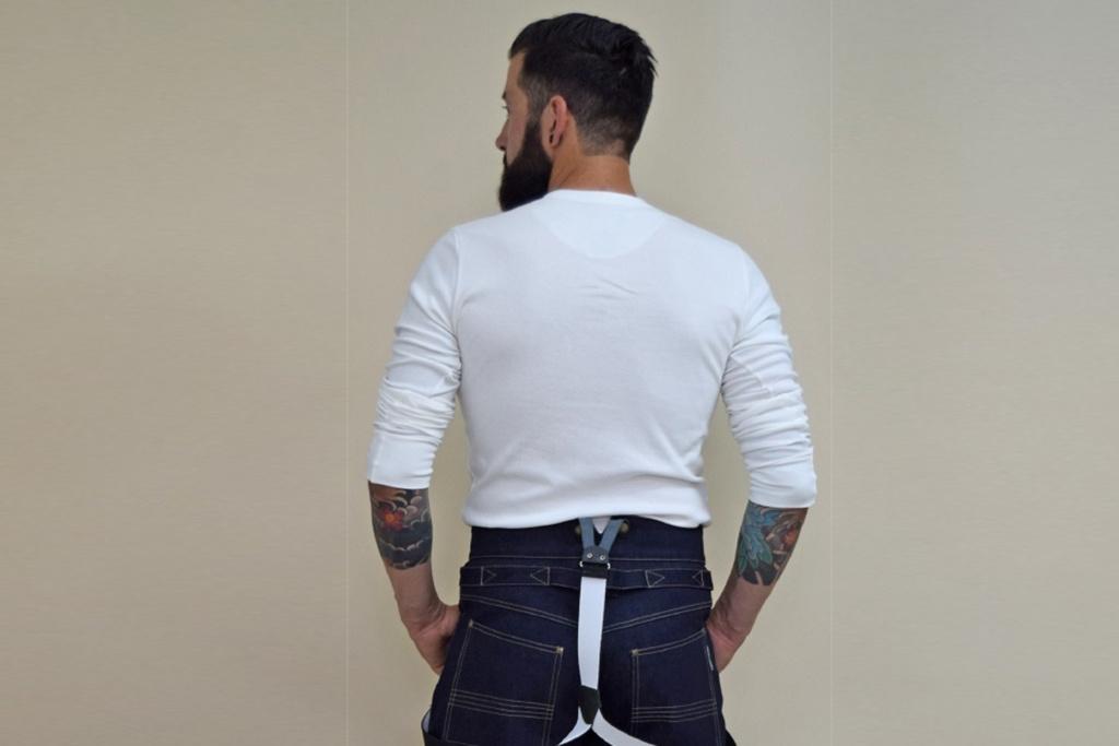 Vecona Vintage The Brave Billy Button Henley Shirt