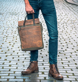 Leather Design Sheridan rugzak
