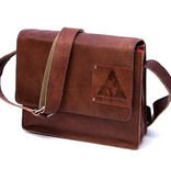 Orange Fire  Tablet tas Fallon cognac