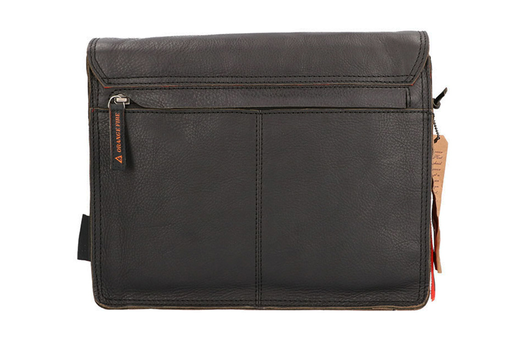 Orange Fire  Tablet tas Fallon zwart