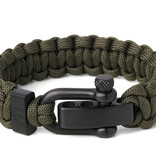 Musthef Rebel Green  heren armband