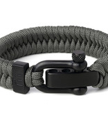 Musthef Rebel Grey heren armband