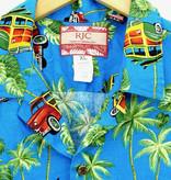 RJC Made in Hawaii Hawaii Shirt Woodywagon Palmtree