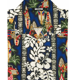 Relco London Hawaii Shirt Hibiscus Woodywagon