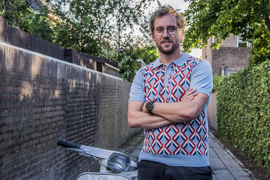Merc Retro Polo Jordan knit