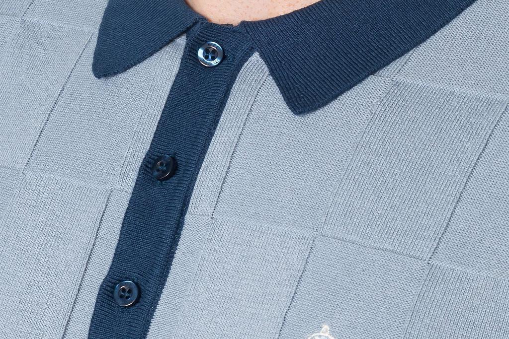 Merc Retro Polo Batlet knit
