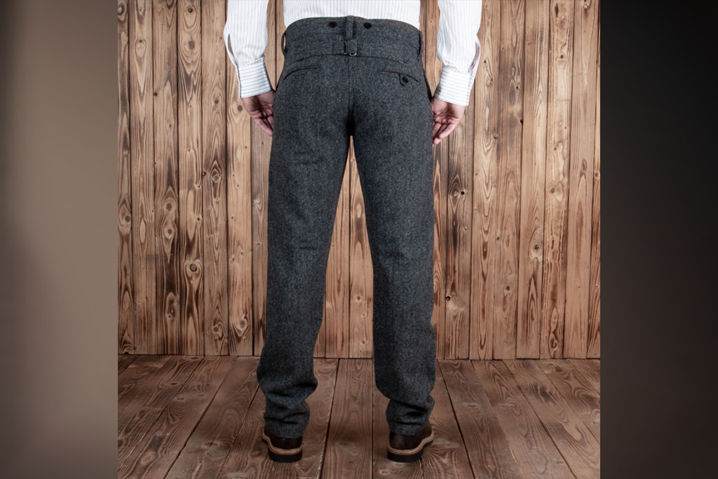 Pike Brothers 1923 Buccanoy Pant Dundee grey
