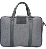 Shelby Brothers collection by Orange Fire Thomas 15 inch laptoptas blue