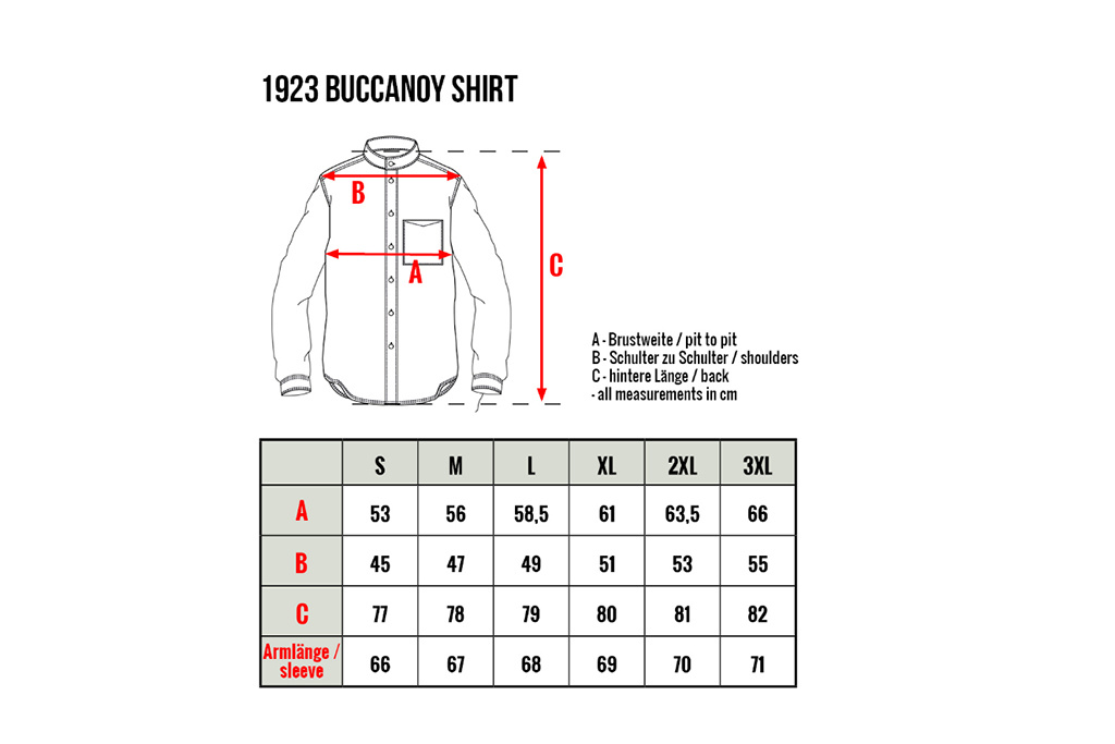 Pike Brothers 1923 Buccanoy Shirt Chelsea grey