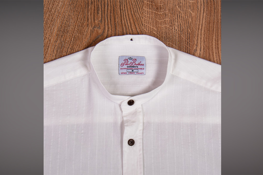 Pike Brothers 1923 Buccanoy Shirt Deacon white