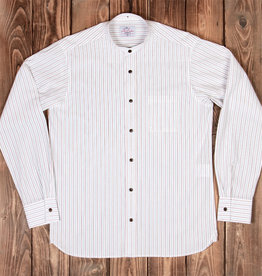 Pike Brothers 1923 Buccanoy Shirt Swansea white