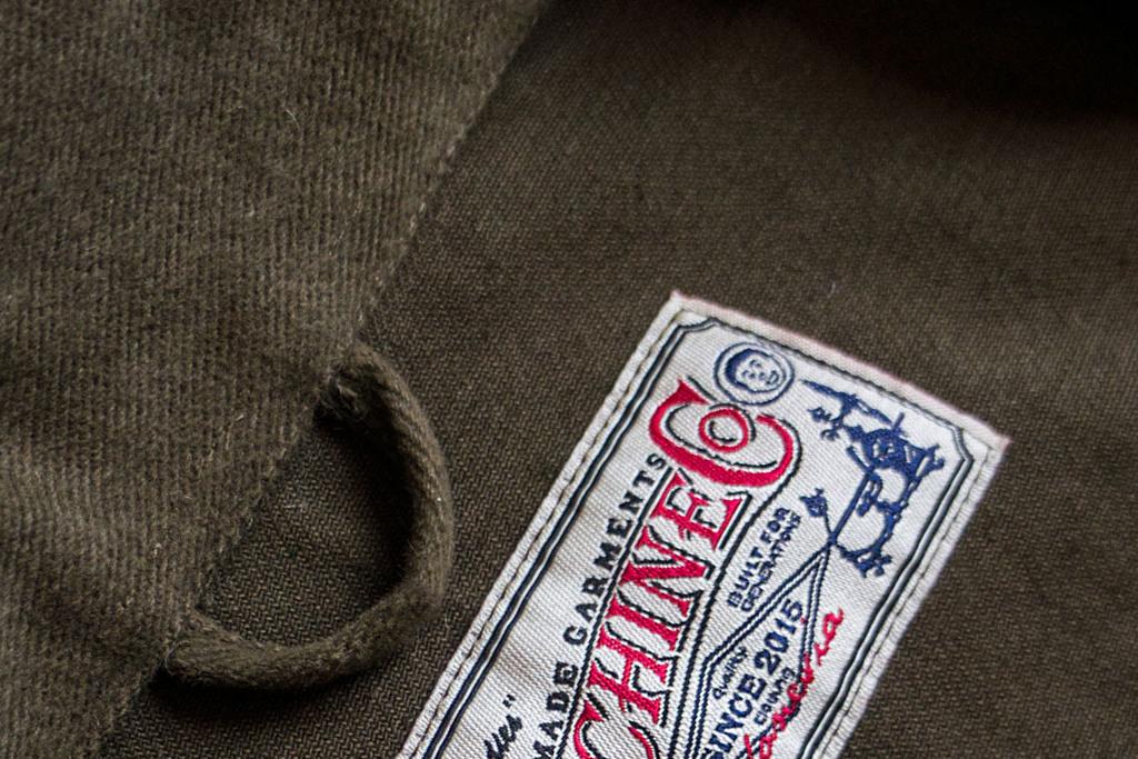 Timechine Company 1930 William Cossack Jacket Olive