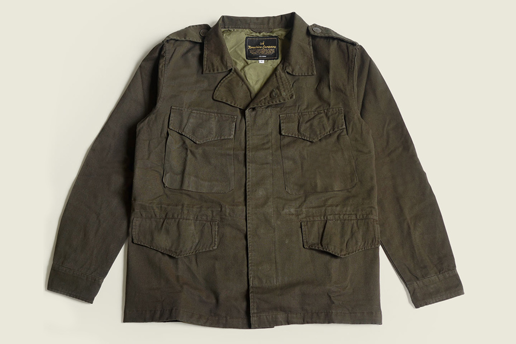 Timechine Company 1943 Kamp-43 field jacket
