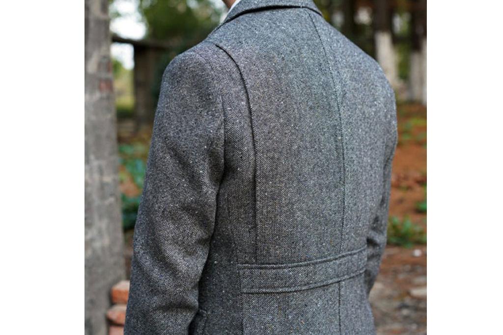 Annual Ring 1924 Colourde Speckle Tweed Safari Jacket