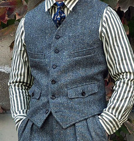 Annual Ring 1924 Coloured Speckle Tweed Vest