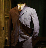 Annual Ring 1922 Brown's  French Striped Chambray Jacket