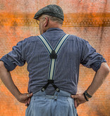 Pike Brothers 1937 Heavy Duty Braces blue