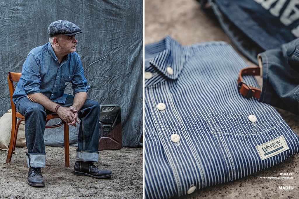 Maden 1935 Railway Worker shirt