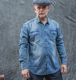 Maden 1937 Stone Wash Blue Wabash Work Shirt