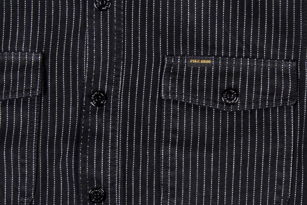 Pike Brothers 1943 CPO shirt black wabash