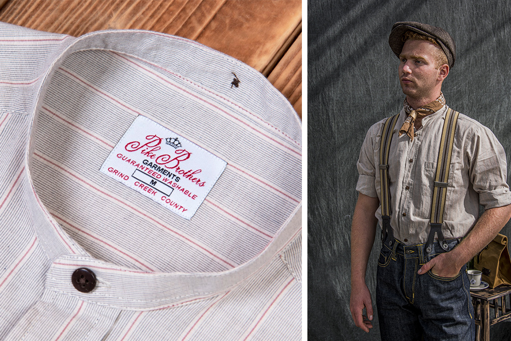 Pike Brothers 1923 Buccanoy Shirt Somerton brown