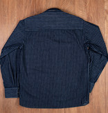 Pike Brothers 1937 Roamer Shirt blue wabash denim