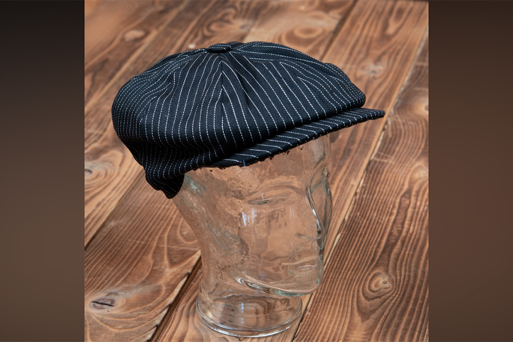 Pike Brothers 1928 Newsboy Cap black wabash