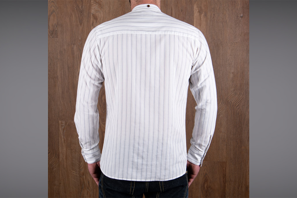 Pike Brothers 1923 Buccanoy Shirt Alp white