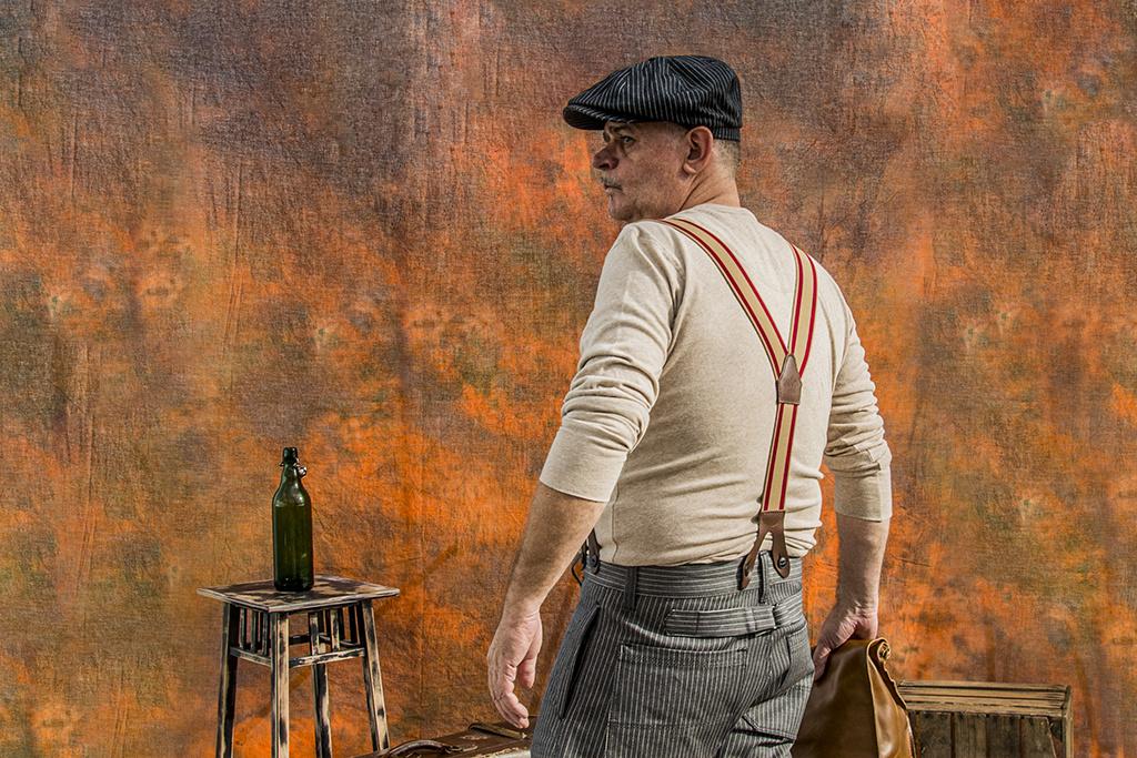 Pike Brothers 1927 Henley Shirt long sleeve oatmeal