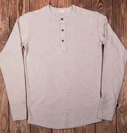 Pike Brothers 1927 Henley Shirt long sleeve oatmeal