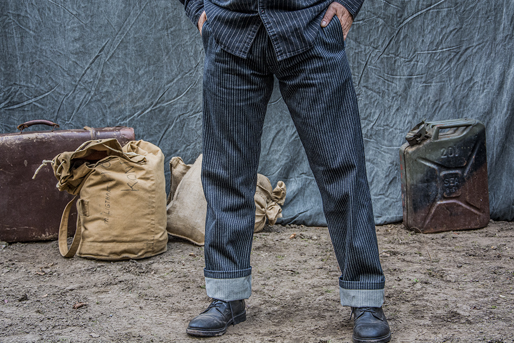 Pike Brothers 1942 Hunting Pant blue wabash