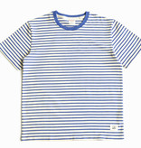 Maden 1951 Marine  Striped Shirt Blue