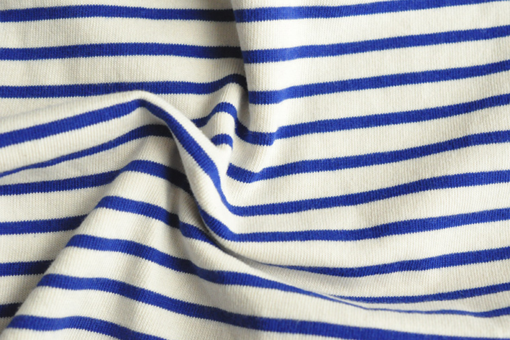 Maden 1951 Marine  Striped Shirt Blue