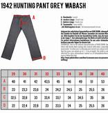 Pike Brothers 1942 Hunting Pant grey  wabash