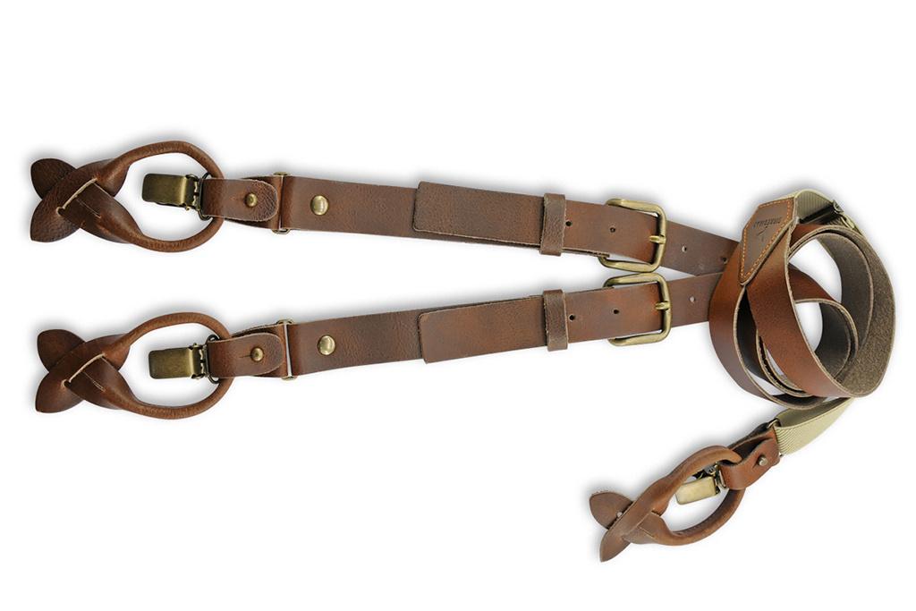 Sir Redman Bretels Arthur Leather Brown