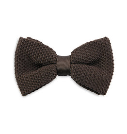 Sir Redman Knitted Bowtie Brown