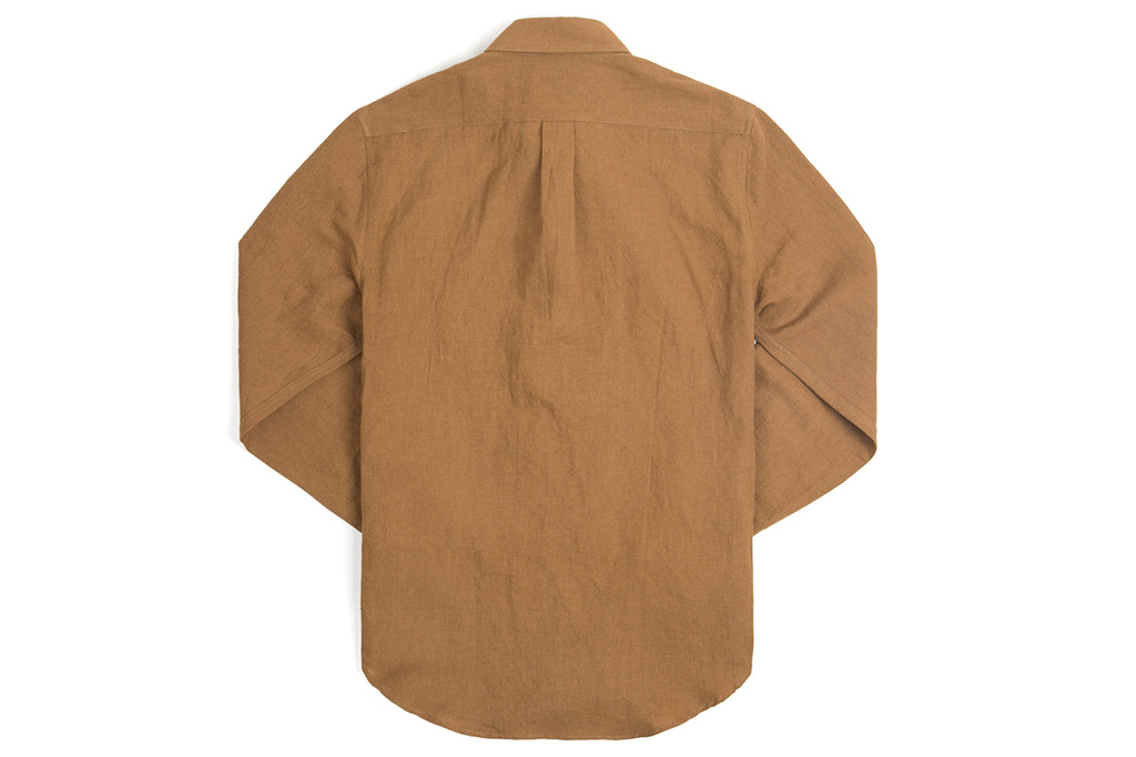 The Boogie Holiday & Co. 1931 Double Breasted Workwear Shirt Caramel