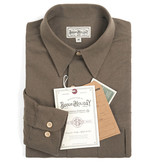 The Boogie Holiday & Co. 1931 Double Breasted Workwear Shirt Khaki