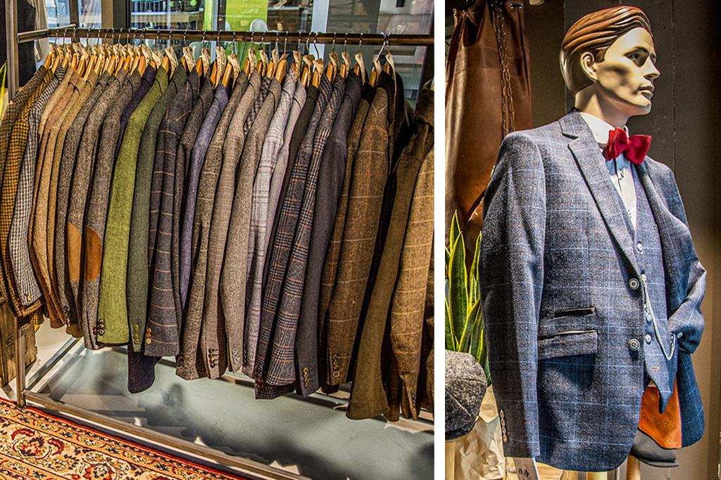 Marc Darcy 3-delig Tweed Suits Confectie Marc Darcy