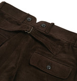 The Boogie Holiday & Co. 1928 Manchester Corduroy Trousers  Brown